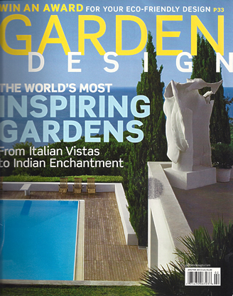 Garden Design Magazine Article 2010