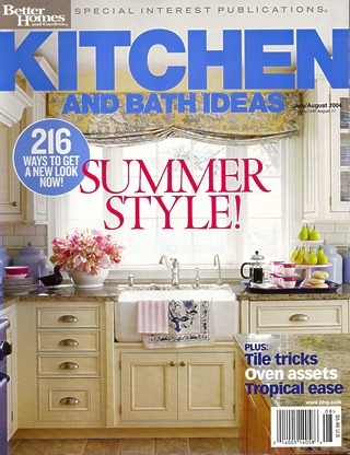 Bruno Builders Article Kitchen and Bath Ideas July 2004